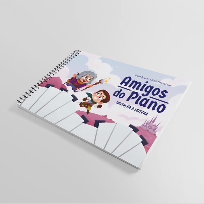 livro amigos do piano